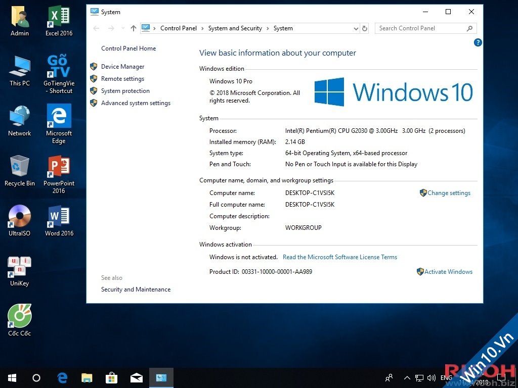 Ghost Win 10 Pro Redstone 4 (X86-x64)_MBR & UEFI- by hoanchien 52