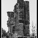 Ashby Castle Great Tower Remains Ilford Pan F Plus 50