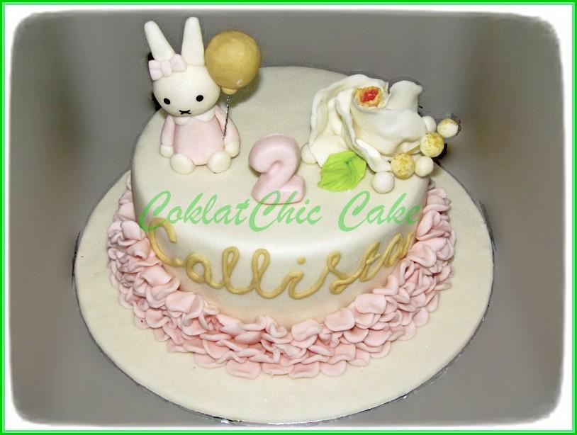 Cake Bunny CALLISTA 15 cm
