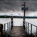 BOAT STOP  - LAKE OF GENEVA by J.P.B