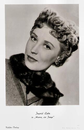 Ingrid Lutz in Hurra - ein Junge! (1953)
