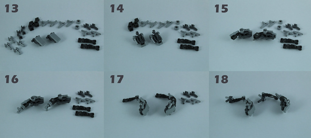 Lego AT-RT Tutorial 5/8 – Assembling the legs