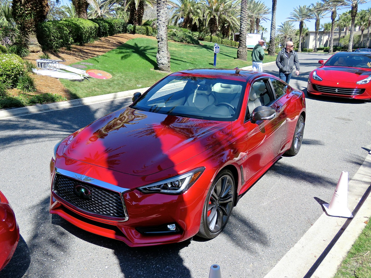 Infiniti Q60 Red Sport 400 AWD Review 1