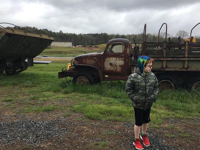 Boys Club went to Tank Town