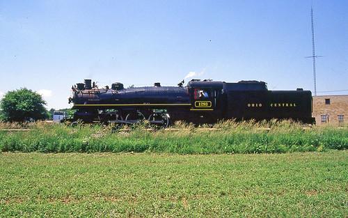 ohiocentral1293 canadianpacific1293 steamlocomotives steamengine sugarcreekohio ohiocentralsteamlocomotives