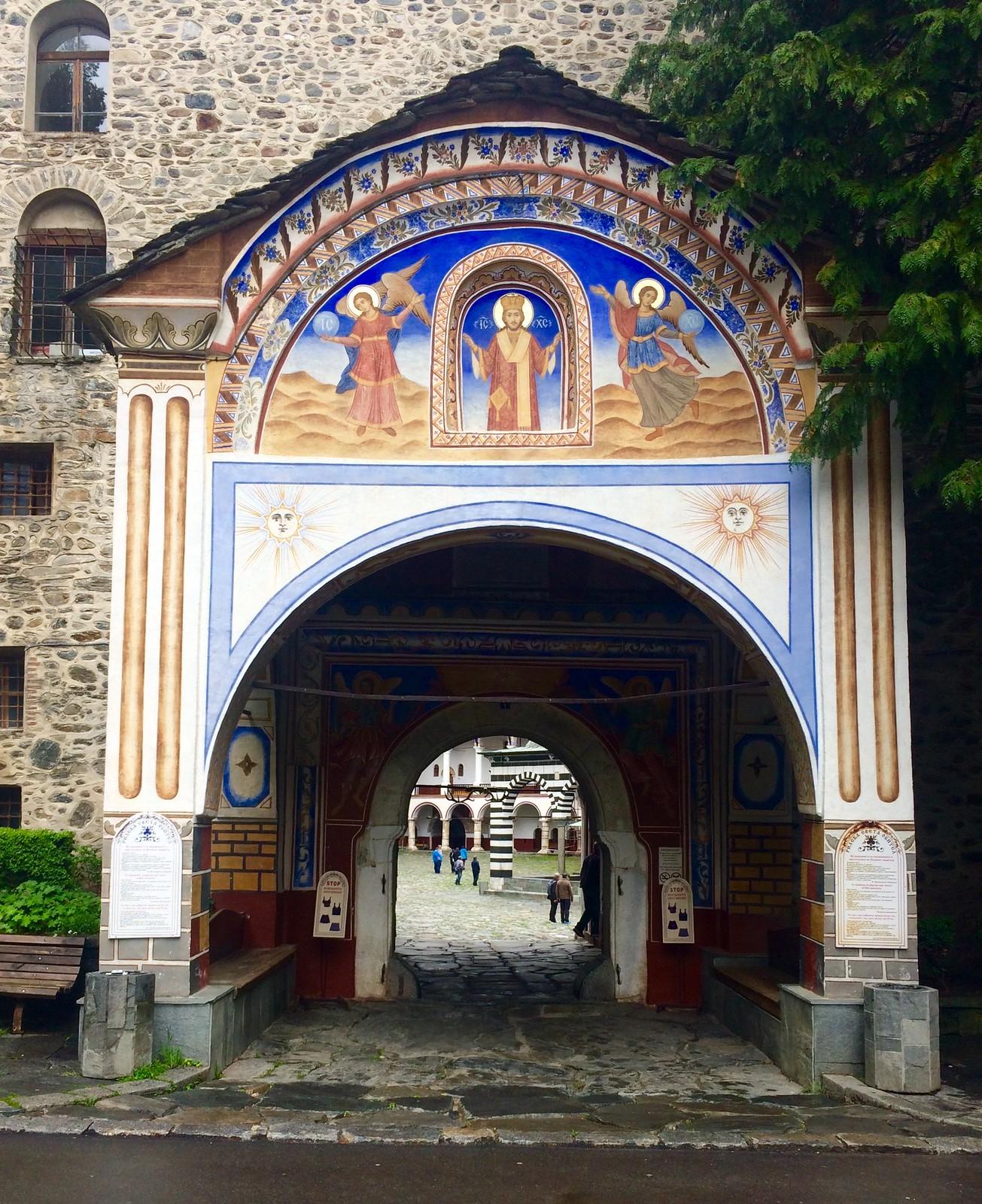 201705 - Balkans - Rila Monastery Entrance - 19 of 66 - Rila Monastery - Rilski manastir, May 26, 2017