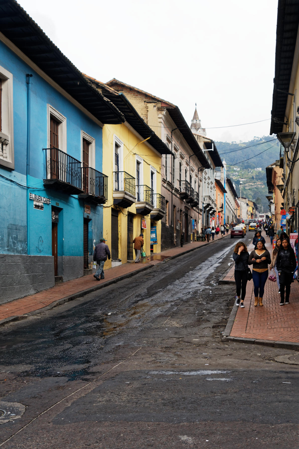 Street scene in Quito