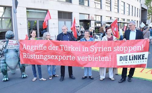 08.05.18: Protest-Kundgebung: Rheinmetall entrüsten!