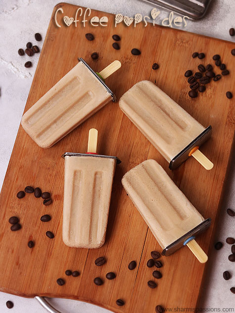 coffee popsicles recipe