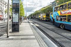TRAM STOP UPPER O'CONNELL STREET DUBLIN [LUAS GREEN LINE SERVICE]-139710