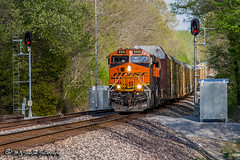 BNSF 8335 | GE ES44C4 | BNSF Birmingham Subdivision