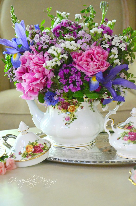 Teapot Arrangement-Housepitality Designs-3