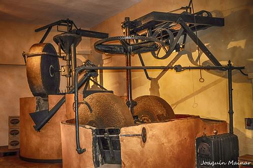 Antiguo molino de aceite de la almazara de Aceites Ferrer