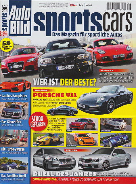 Auto Bild Sportscars 6/2011