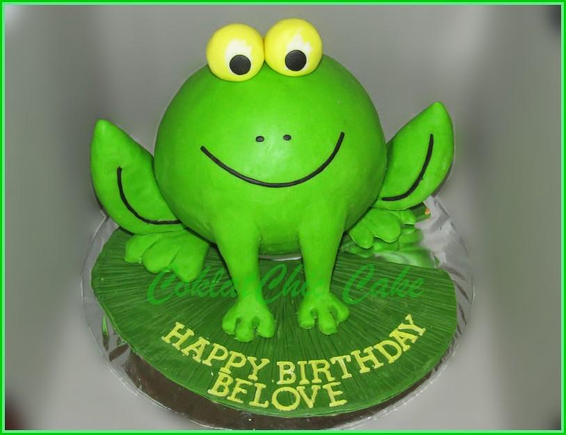Cake Frog 15 cm
