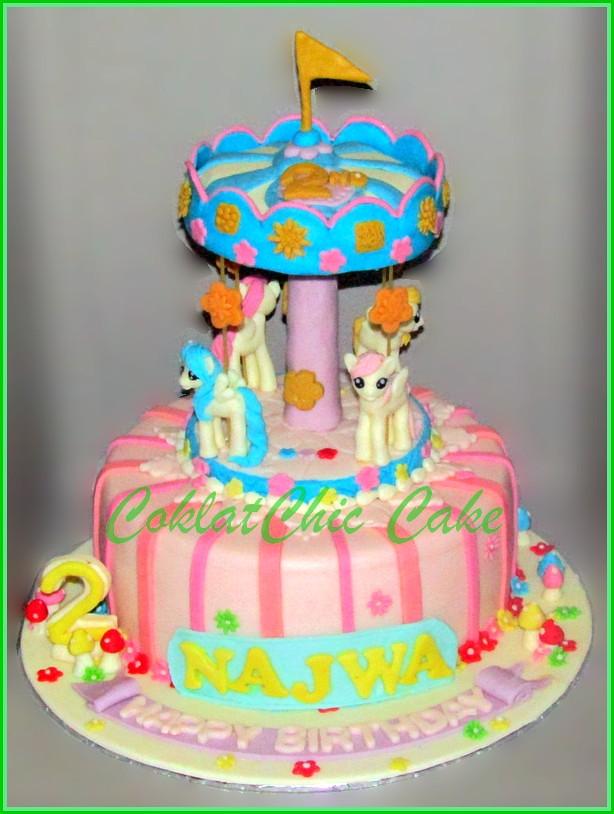 Cake Carousel Pony NAJWA 20 cm