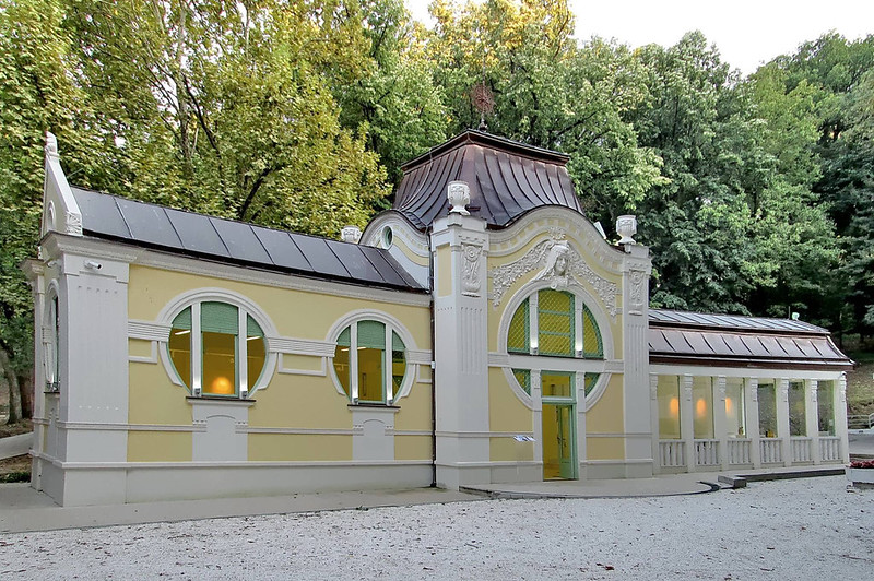 The Pavilion of Prince Miloš at the Bukovička Spa, Arandjelovac, SERBIA
