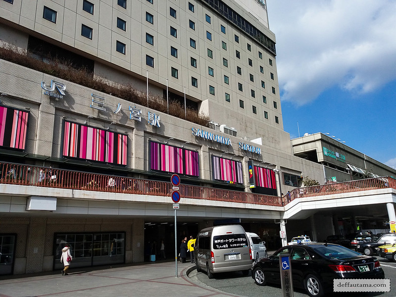 9 Hari Babymoon ke Jepang - Kobe-sannomiya (Hankyu) Station