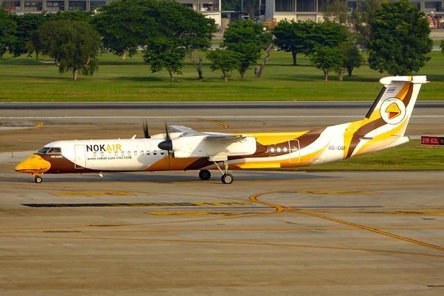 HS-DQF DHC-8 402NG  NOK  DMK