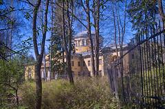 Grand Palace in Shuvalovsky Park, Saint-Petersburg