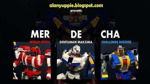 LEGO Jaeger Combiner MerDeCha from Malaysia