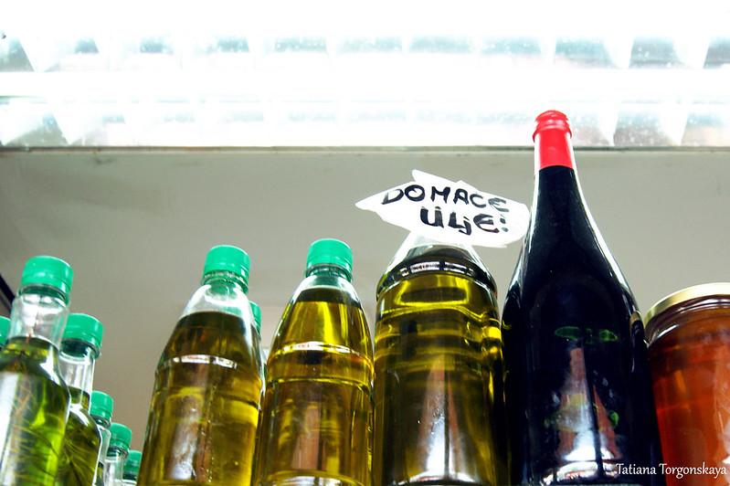 Домашнее оливковое масло