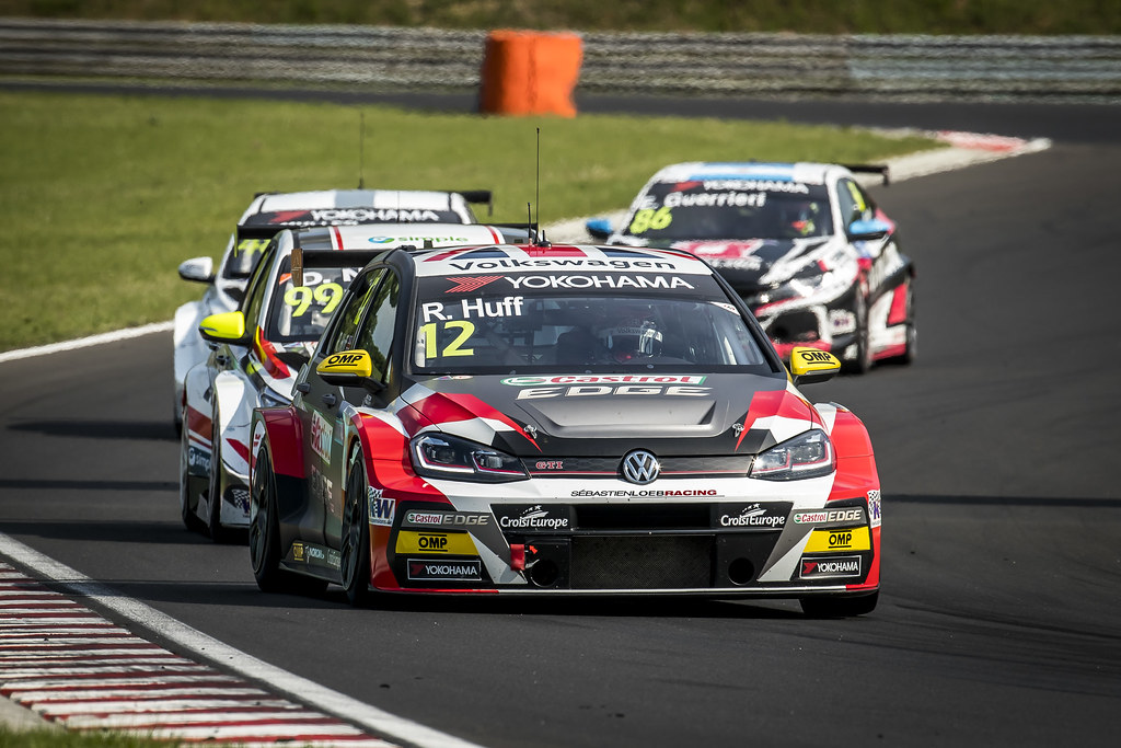 12 HUFF Rob (GBR), Sebastien Loeb Racing, Volkswagen Golf GTI TCR, action during the 2018 FIA WTCR World Touring Car cup, Race of Hungary at hungaroring, Budapest from april 27 to 29 - Photo Gregory Lenormand / DPPI