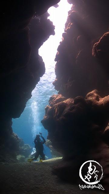 こちらの洞窟もイイ感じ♪