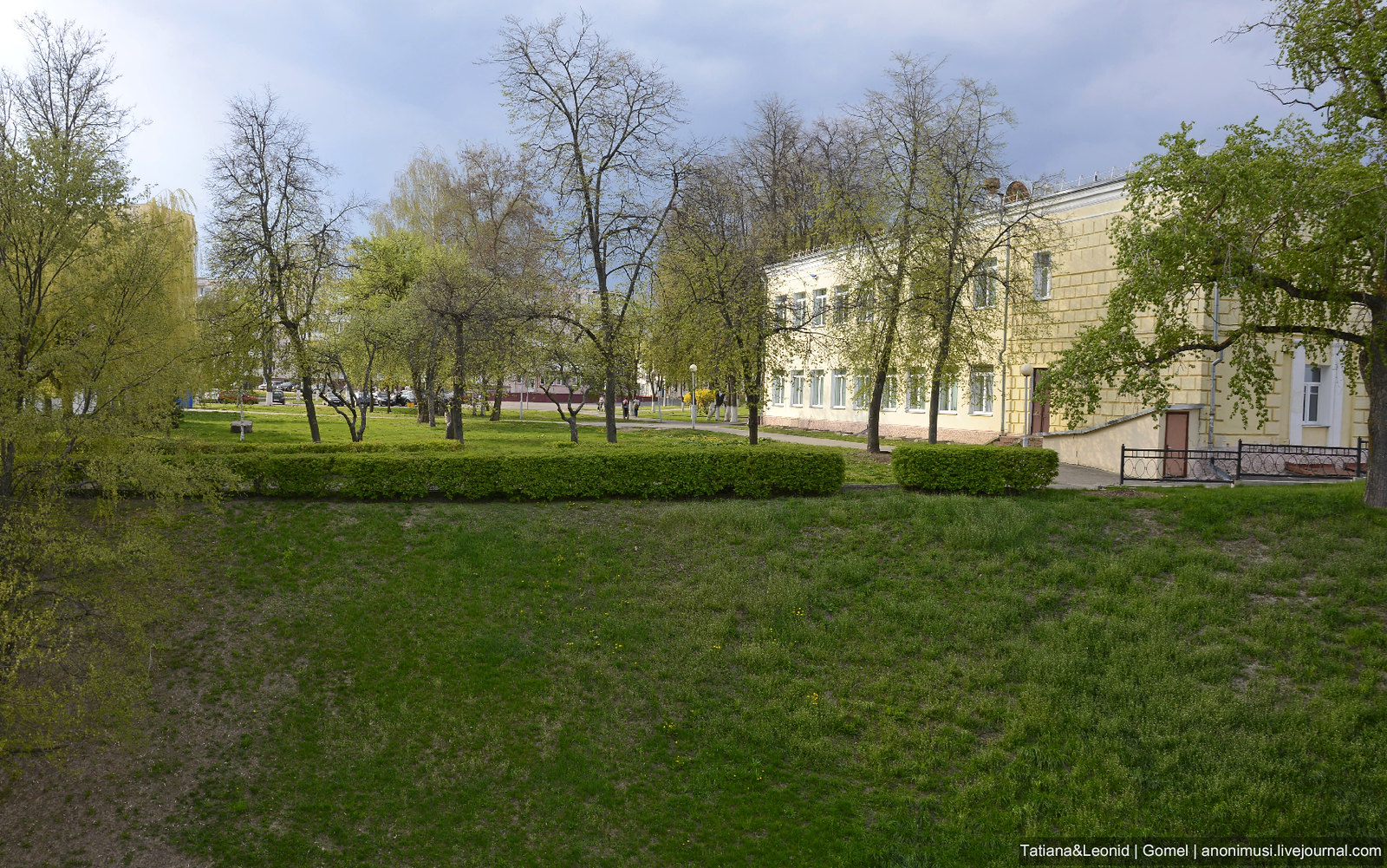 Архитектура Гомеля. Весна