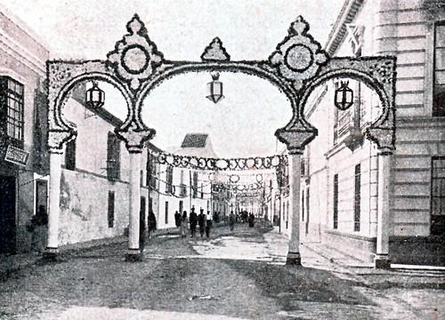 1926. Portada de la Feria de Mayo