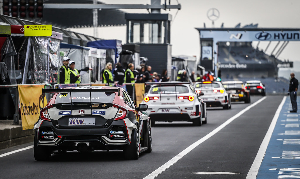 pit lane during the 2018 FIA WTCR World Touring Car cup of Nurburgring, Germany from May 10 to 12 - Photo Francois Flamand / DPPI