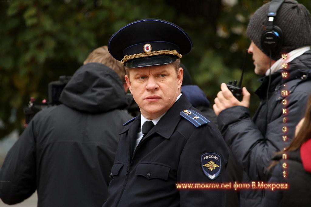 Актер - Блохин Дмитрий На съемках сериала «Морозова сезон первый»