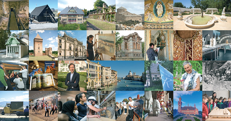 Winners of the EU Prize for Cultural Heritage / Europa Nostra Awards 2018