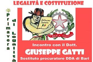 Noicattaro. primavera di legalità 2018 front