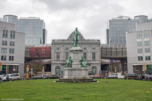 Place du Luxembourg e Stazione Europa, quartiere europeo di Bruxelles