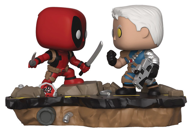 可愛大對決!! Funko Pop! Marvel: Comic Moments【死侍 vs. 機堡】Deadpool vs. Cable