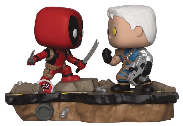 可愛大對決!! Funko Pop! Marvel: Comic Moments【死侍 vs. 機堡】Deadpool vs. Cable