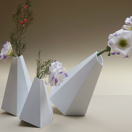3 Nuns Vases by Kami Doro Studio