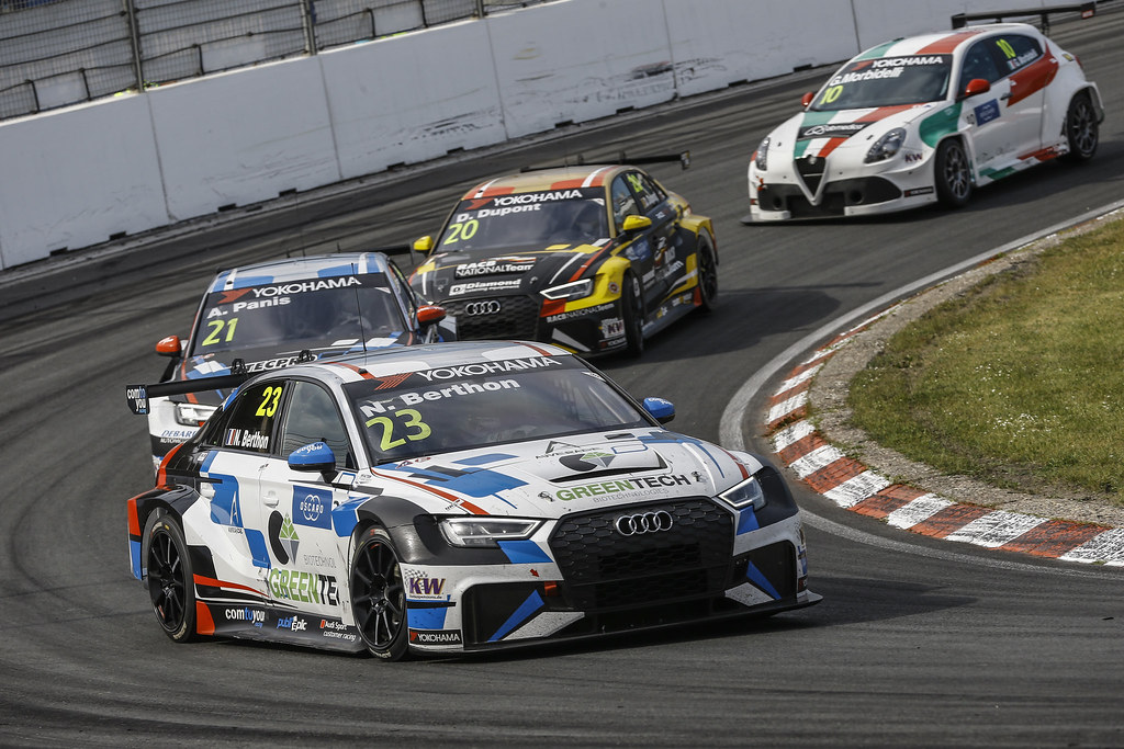 23 BERTHON Nathanael, (fra), Audi RS3 LMS TCR team Comtoyou Racing, action during the 2018 FIA WTCR World Touring Car cup of Zandvoort, Netherlands from May 19 to 21 - Photo Jean Michel Le Meur / DPPI
