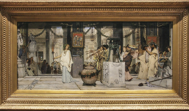The Vintage Festival, Lawrence Alma-Tadema, 1871
