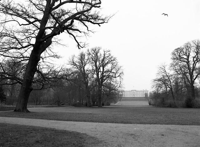 Frederiksberg Have med Frederiksberg Slot i baggrunden
