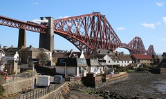 North Queensferry with Leander