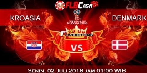 Prediksi Bola Piala Dunia – Kroasia vs Denmark, hari Senin, 2 Juli 2018