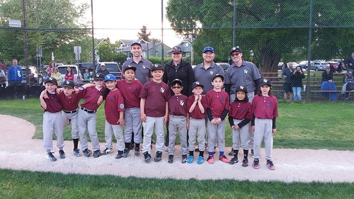 2018-05-20 SVLL Rookies Maroon Chargers at New Westminster Classic 01