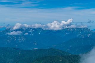 巻機山は雲の中@至仏山頂