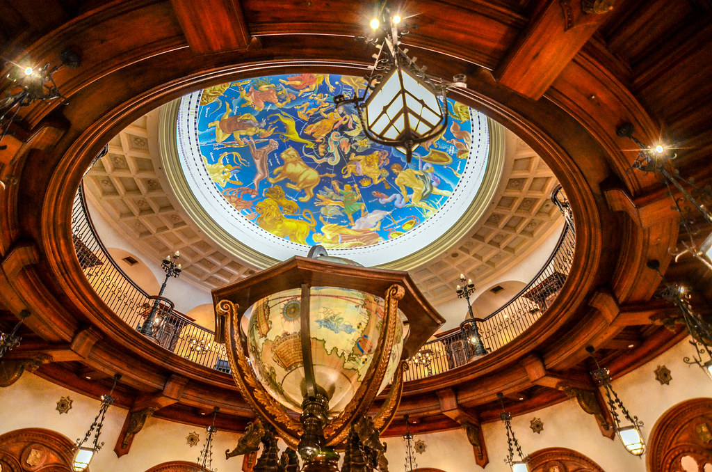 Magellan's globe main room from bottom TDS