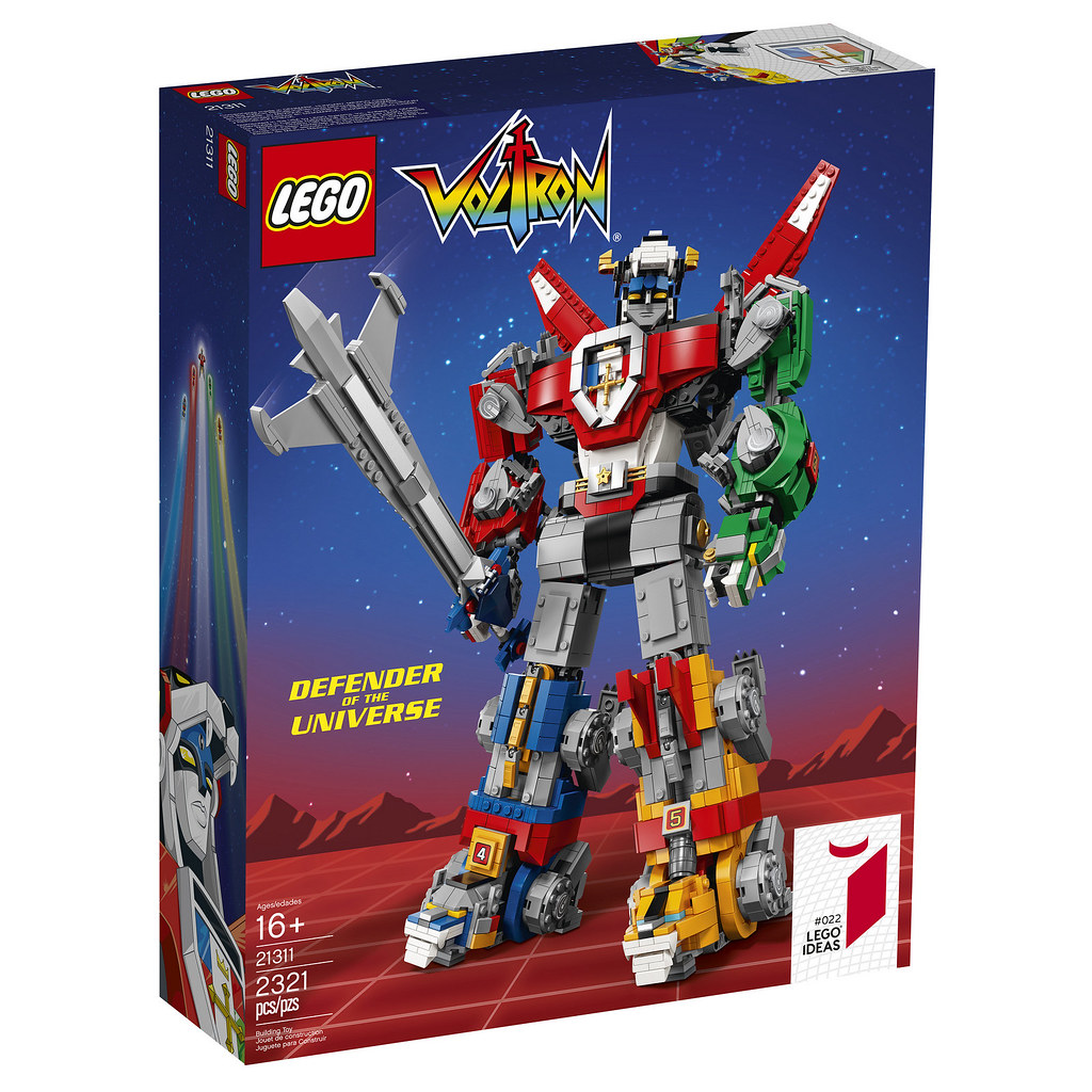 Combining to Take Down Your Bank Account! LEGO Ideas 21311 Voltron