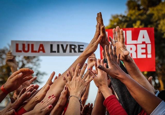 Ex-presidente Lula segue preso, na sede da Polícia Federal, em Curitiba, desde o dia 7 de abril - Créditos: Ricardo Stuckert