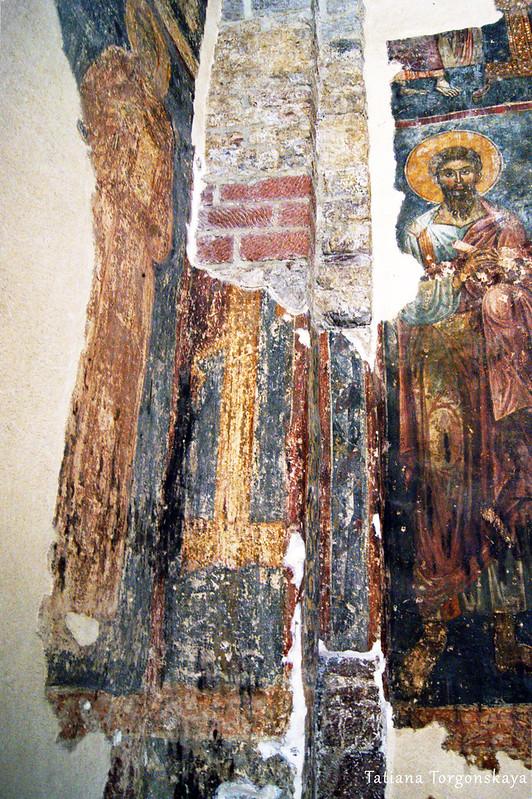 Фрески в церкви Св. Марии Речной