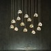 Lamps and Lighting– Home Decor : Each of Hubbardton Forge's Winter Low Voltage Mini Pendants are folded to shap...